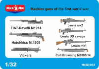 Machine guns of the first world war