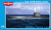 German submarine U-boat type XVIIB Walter boats
