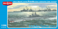 """Iskra"" (Spark) Pravda class Soviet submarine (late version)"