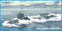 USS Parche (SSN-683) submarine (early version)