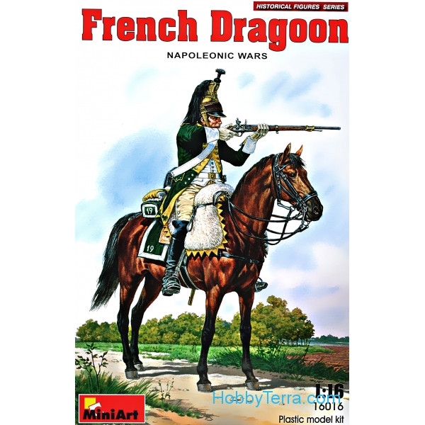 Miniart  16016 French dragoon, Napoleonic Wars
