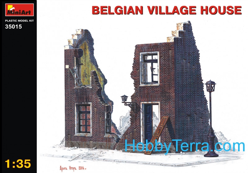 Miniart  35015 Belgium Village House