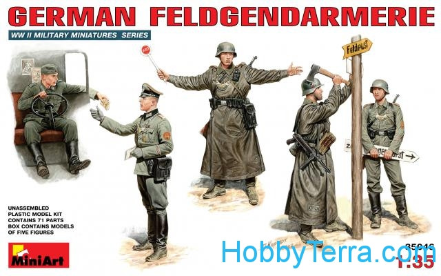 Miniart  35046 German Feldgendarmerie