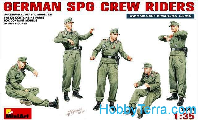 German SPG crew riders