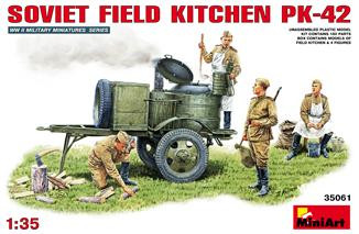Soviet Field Kitchen KP-42