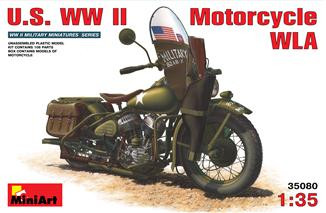 US WWII Motorcycle WLA