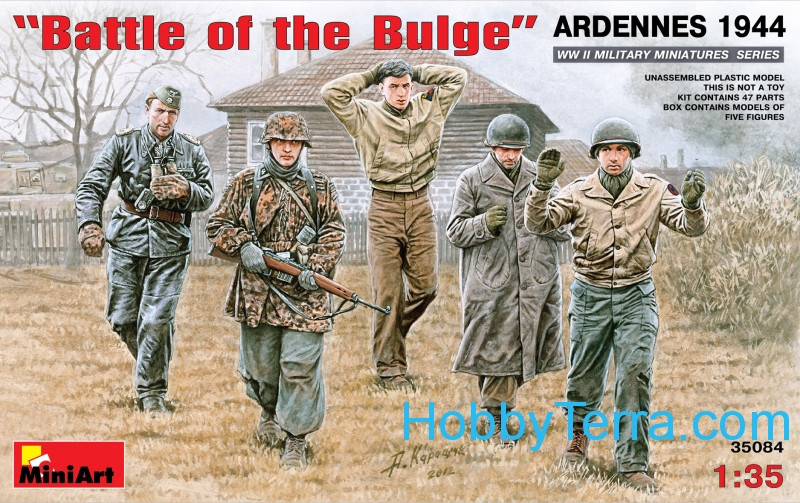 "Miniart  35084 ""Battle of the Bulge"", Ardennes 1944"
