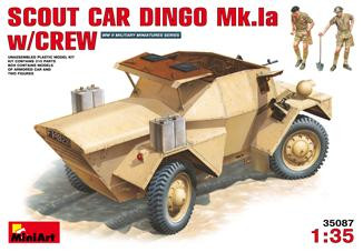 Miniart  35087 Scout Car Dingo Mk 1a w/crew