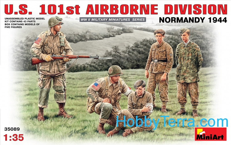 Miniart  35089 U.S. 101st Airborne division, Normandy 1944