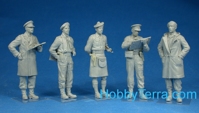 Miniart 35165 WWII British officers