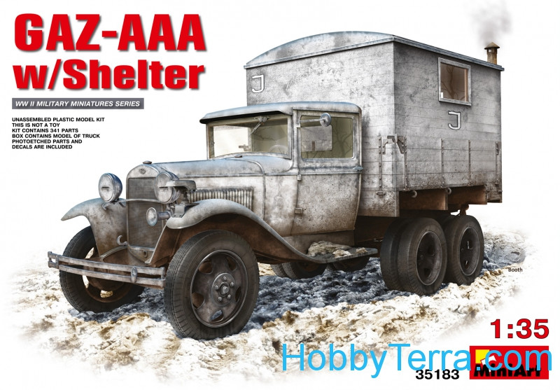 GAZ-AAA with shelter