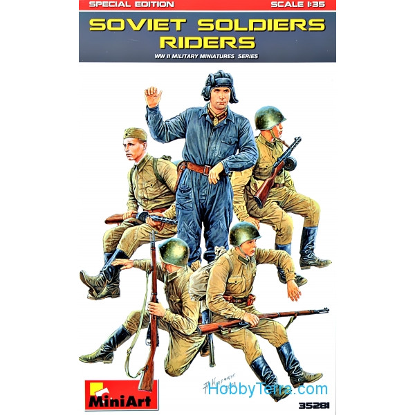 Miniart  35281 Soviet soldiers riders. Special edition