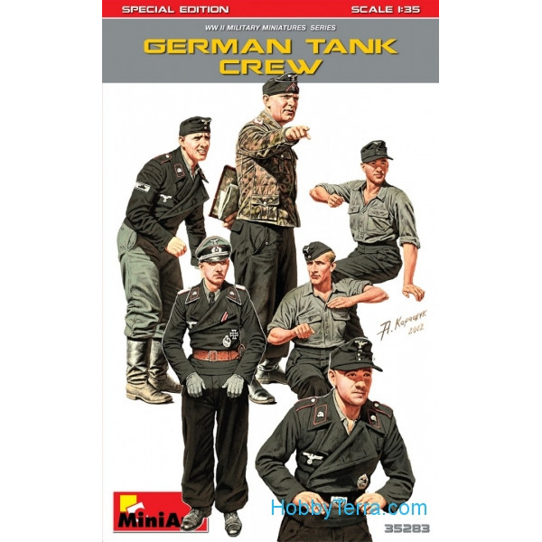 German tank crew. Special edition