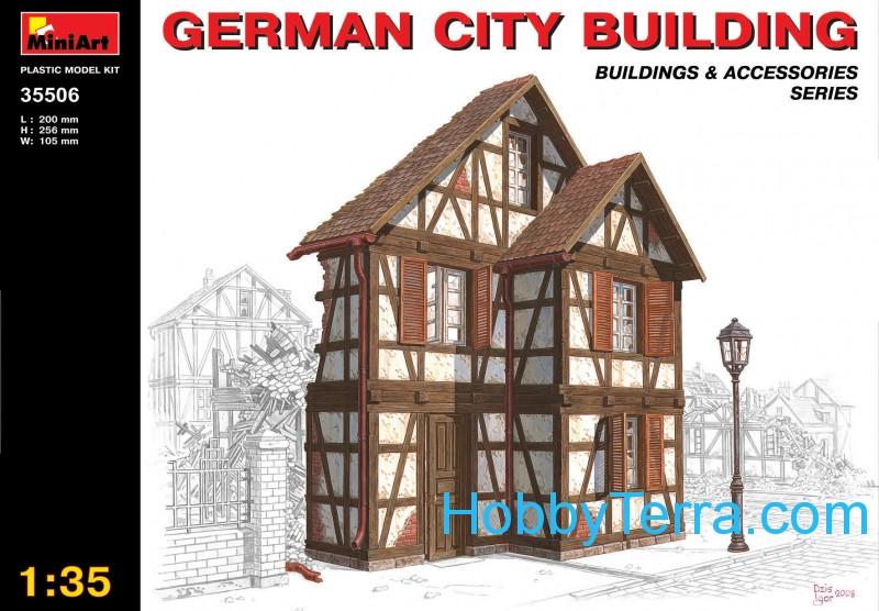 Miniart  35506 German city building