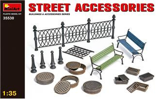Street accessories (made of Plastic)