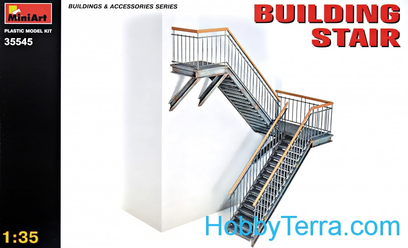 Building Stair (made of Plastic)