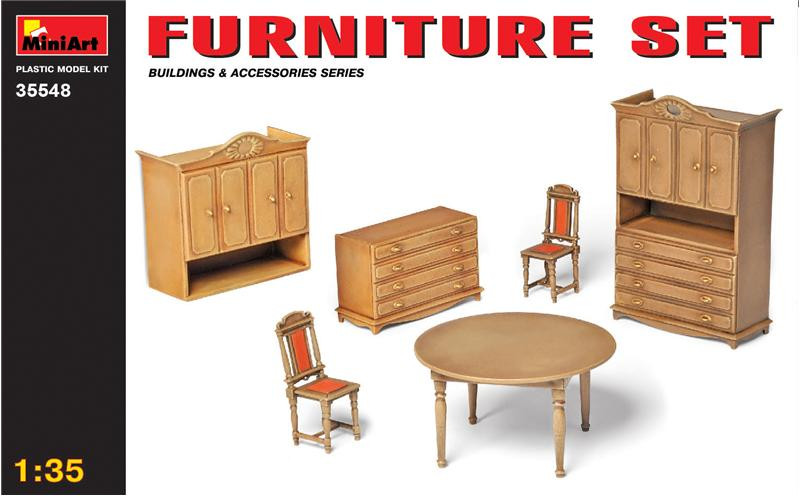 Miniart  35548 Furniture set