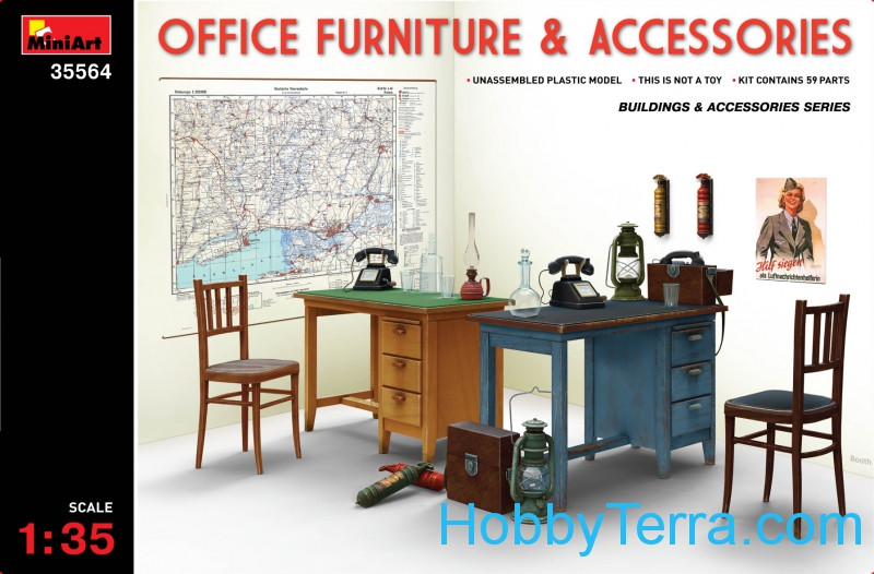 Miniart  35564 Office furniture & accessories