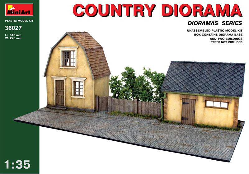 Country diorama