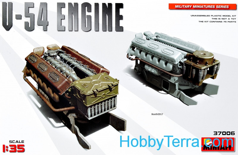 Miniart  37006 V-54 Engine