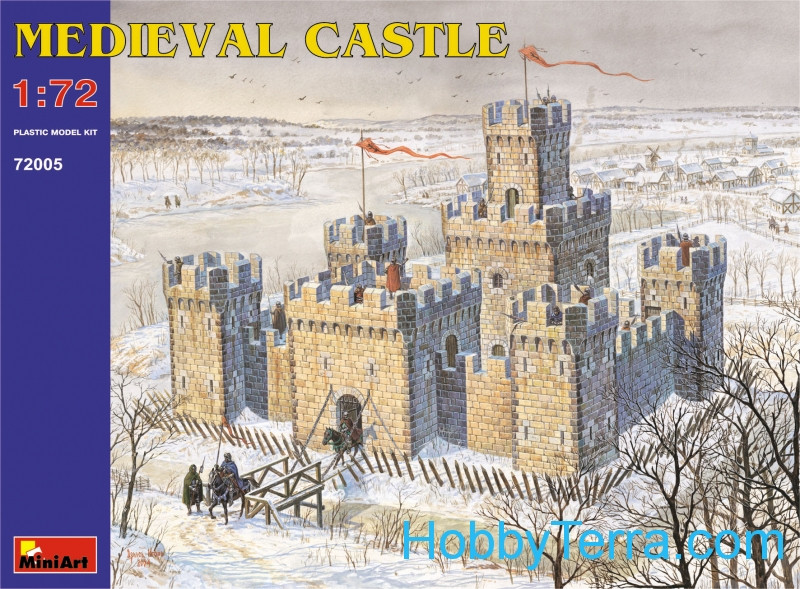 Miniart  72005 Medieval Castle XII - XV c.