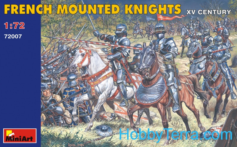 Miniart  72007 French mounted knights XV century