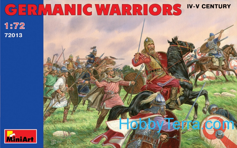 Germanic warriors, IV-V century