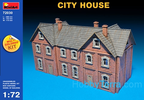 Miniart  72030 City house