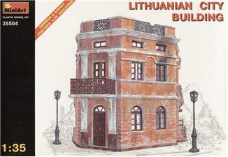 Lithunianan city building