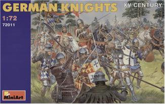 German knights, XV century
