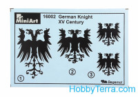 Miniart  16002 German knight XV century
