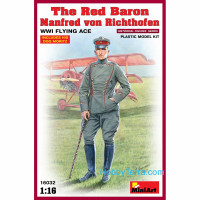 Red Baron. Manfred von Richthofen, WWI Flying Ace