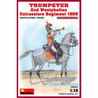 Trumpeter of 2nd Westphalian Cuirassiers regiment, 1809