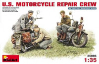 U.S. Motorcycle repair crew