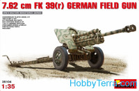 7,62cm F.K. 39(r) German field gun