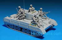Miniart  35116 British infantry tank Valentine Mk 1 with crew (including iterior)
