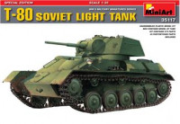 T-80 Soviet light tank, special edition