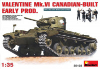 Valentine Mk.VI  Canadian – built Early Prod.