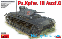 Pz.Kpfw.III Ausf.C German medium tank