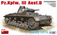 Pz.Kpfw.III Ausf.D German medium tank
