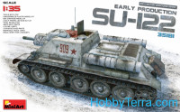 SU-122 Soviet self-propelled gun, early prod.