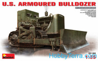 U.S. armored bulldozer