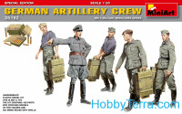 German artillery crew.Special edition