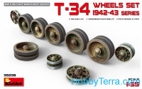 T-34 Wheels set, 1942-43 series