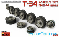 T-34 Wheels set, 1943-44 series