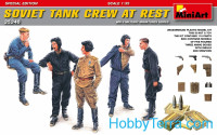 Soviet tank crew at rest. Special edition