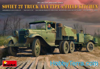 Soviet 2t truck AAA type with field kitchen