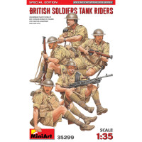 British Soldiers Tank Riders. (Special Edition)