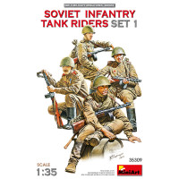 Soviet Infantry Tank Riders (set 1)