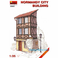 Normandy city building